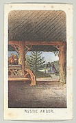 Rustic Arbor, from the series, Views in Central Park, New York, Part 3