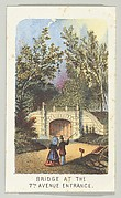 Bridge at the 7th Avenue Entrance, from the series, Views in Central Park, New York, Part 3