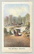 The Marble Bridge, Near the Lake, from the series, Views in Central Park, New York, Part 3
