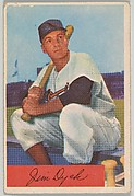 Jim Dyck, Infield, Baltimore Orioles, from Name on Bat series, series 9 (R406-9) issued by Bowman Gum