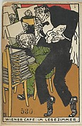 Vienesse Café: In the Reading Room (Wiener Café: Im Lesezimmer)