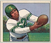 Card Number 3, Robert Nowasky, End, Linebacker, Baltimore Colts, from the Bowman Football series (R407-2) issued by Bowman Gum