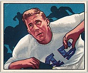Card Number 87, Robert Reinhard, Tackle, Los Angeles Rams, from the Bowman Football series (R407-2) issued by Bowman Gum