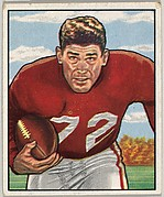 Card Number 143, Norm Standlee, Fullback, San Francisco 49ers, from the Bowman Football series (R407-2) issued by Bowman Gum
