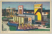 Time and Fortune Building at the Century of Progress, from the Chicago World's Fair series (PC225-1)