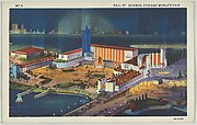 Hall of Science, from the Chicago World's Fair series (PC225-1)