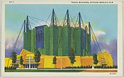 Travel Building, from the Chicago World's Fair series (PC225-1)