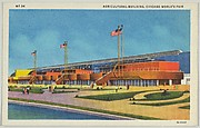 Agricultural Building, from the Chicago World's Fair series (PC225-1)