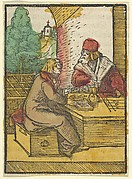 The Parable of the Rich Man and the Housekeeper, 2, from Das Plenarium