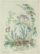 Chinoiserie from Nouvelle Suite de Cahiers de Dessins Chinois