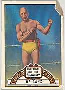 Joe Gans, Lightweight Champion, 1901-1908, from the Topps Ringside series (R411) issued by Topps Chewing Gum Company