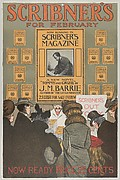 "Scribner's for February ""Tommy and Grizel"" by J. M. Barrie"