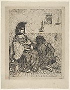 Algerian Jewess with Her Servant