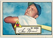 Card Number 40, Irv Noren, Washington Senators, from the Topps Baseball series (R414-6) issued by Topps Chewing Gum Company