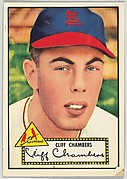 Card Number 68, Cliff Chambers, St. Louis Cardinals, from the Topps Baseball series (R414-6) issued by Topps Chewing Gum Company