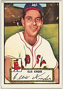 Card Number 78, Ellis Kinder, Boston Red Sox, from the Topps Baseball series (R414-6) issued by Topps Chewing Gum Company