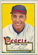 Card Number 88, Bob Feller, Cleveland Indians, from the Topps Baseball series (R414-6) issued by Topps Chewing Gum Company