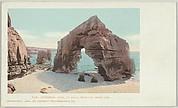 Cathedral Rock, La Jolla, Near San Diego, California, No. 6118