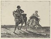 Steenie or Redgauntlet Pursued by a Goblin on Horseback