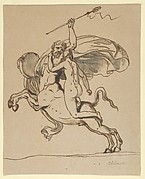 The Centaur Nessus Abducting Deianira