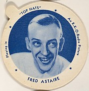 Fred Astaire, from the Movie Stars series (F5), issued by the Individual Drinking Cup Company, Inc. for Wisconsin Creameries Ice Cream