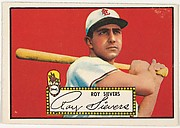 Card Number 64, Roy Sievers, St. Louis, from the Topps Baseball series (R414-6) issued by Topps Chewing Gum Company