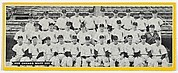 Team portrait of 1950 Chicago White Sox, from the Topps Team Pictures series (R414-4) issued by Topps Chewing Gum Company