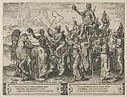The Triumph of the Riches, from The Cycle of the Vicissitudes of Human Affairs, plate 2