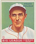 Frank O'Rourke, Manager, Milwaukee Brewers, from the Goudey Gum Company's Big League Chewing Gum series (R319)