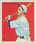 Joe Moore, New York Giants, from the Goudey Gum Company's Big League Chewing Gum series (R319)