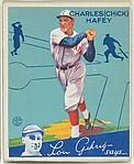 Charles (Chick) Hafey, Cincinnati Reds