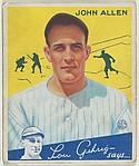John Allen, New York Yankees