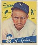 Jim DeShong, New York Yankees