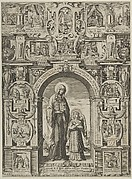 Sancta Francisca de Pontainis Dicta Romana