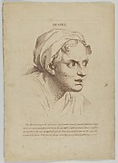 Desire (from Heads Representing the Various Passions of the Soul; as they are Expressed in the Human Countenance: Drawn by that Great Master Monsieur Le Brun)