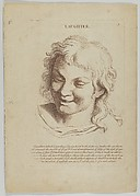 Laughter (from Heads Representing the Various Passions of the Soul; as they are Expressed in the Human Countenance: Drawn by that Great Master Monsieur Le Brun)