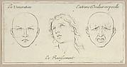 La Veneration, Le Ravissement, Extrême Douleur corporelle (from Caractères des passions, gravés sur les desseins de l'illustre Monsieur le Brun)