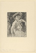 Blonde Woman at her Toilette