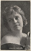 Virginia Kirtley, from the Black and White Movie Stars series (D1), issued by the E. H. Koester Baking Company