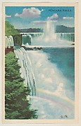 Niagara Falls, bakery card from the Nature's Splendor series (D39-7), issued by Bell Bakeries, Inc.