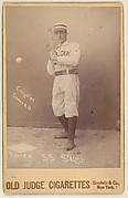 Fuller, Shortstop, St. Louis Browns, from the series Old Judge Cigarettes