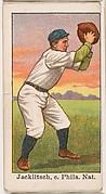 Jacklitsch, Catcher, Philadelphia, National League, from the 50 Ball Players series (E101)