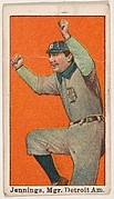 Jennings, Manager, Detroit, American League, from the 50 Ball Players series (E101)
