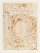 Album Containing Architectural, Ornament, and Figure Drawings.