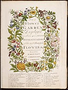 The Flower-Garden Display'd, In Above Four Hundred Curious Representations Of the Most Beautiful Flowers; Regularly Dispos'd in the Respective Months of Their Bloom