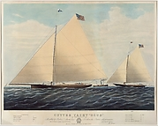 "Cutter Yacht ""Scud"" of Philadelphia"