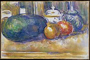 Still-Life with a Watermelon and Pomegranates
