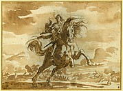Equestrian Portrait of Louis de Lorraine, Prince of Phalsbourg