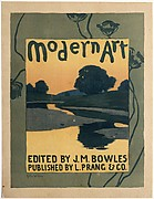 Modern Art / EDITED BY J. M. BOWLES / PUBLISHED BY L. PRANG & CO.