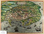 "Braun, G.; Hogenberg, F. ""Alexandria, Vetustissimum Aegypti Emp.."" Cologne 1575"
